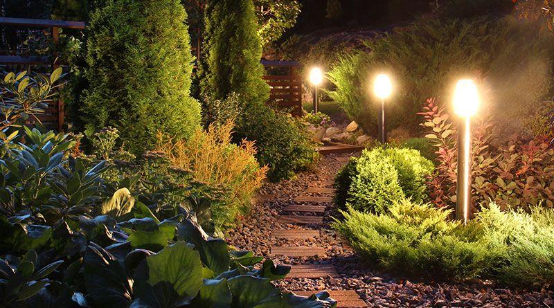 Lichtanlagen in Ihrem Garten von Trieschmann Gartengestaltung